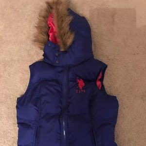 NWOT US Polo Assn. Association Puffer Vest Jacket